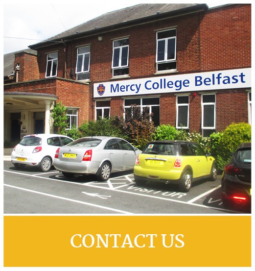Mercy College Belfast Quick Links10