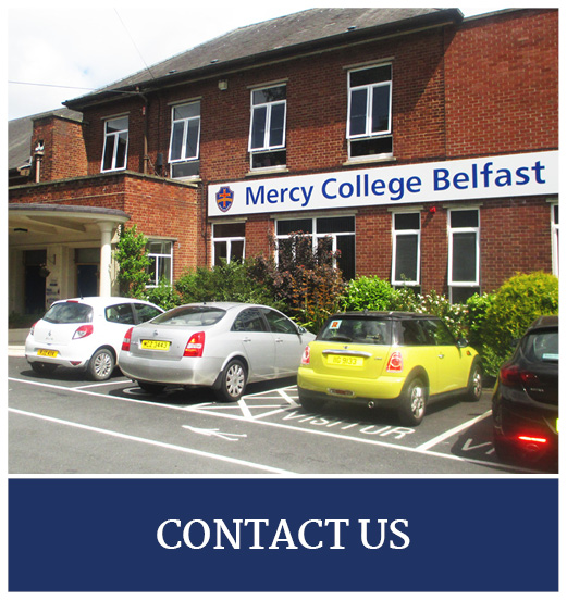 Mercy College Belfast Quick Links9